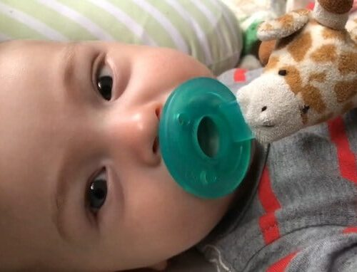 Wubbanub my first friend pacifier review