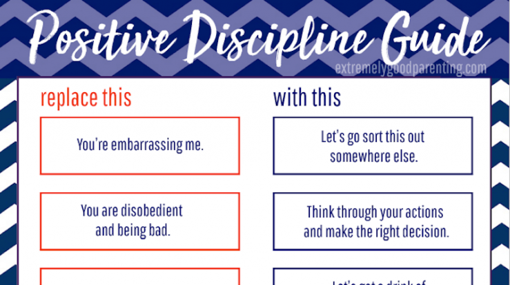 Preview of positive discipline cheat sheet download