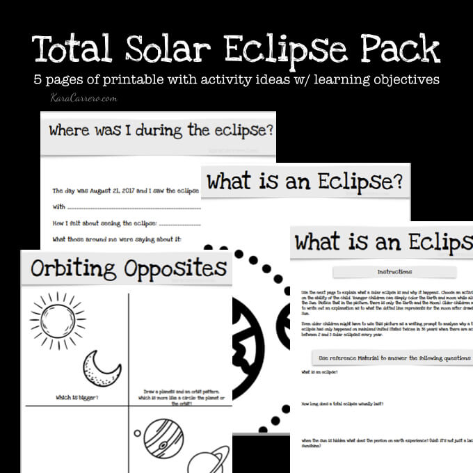 Eclipse worksheets for preschool eclipse best free for Printable solar eclipse coloring page