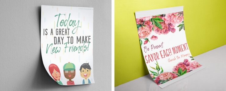 Back to school encouragement printables