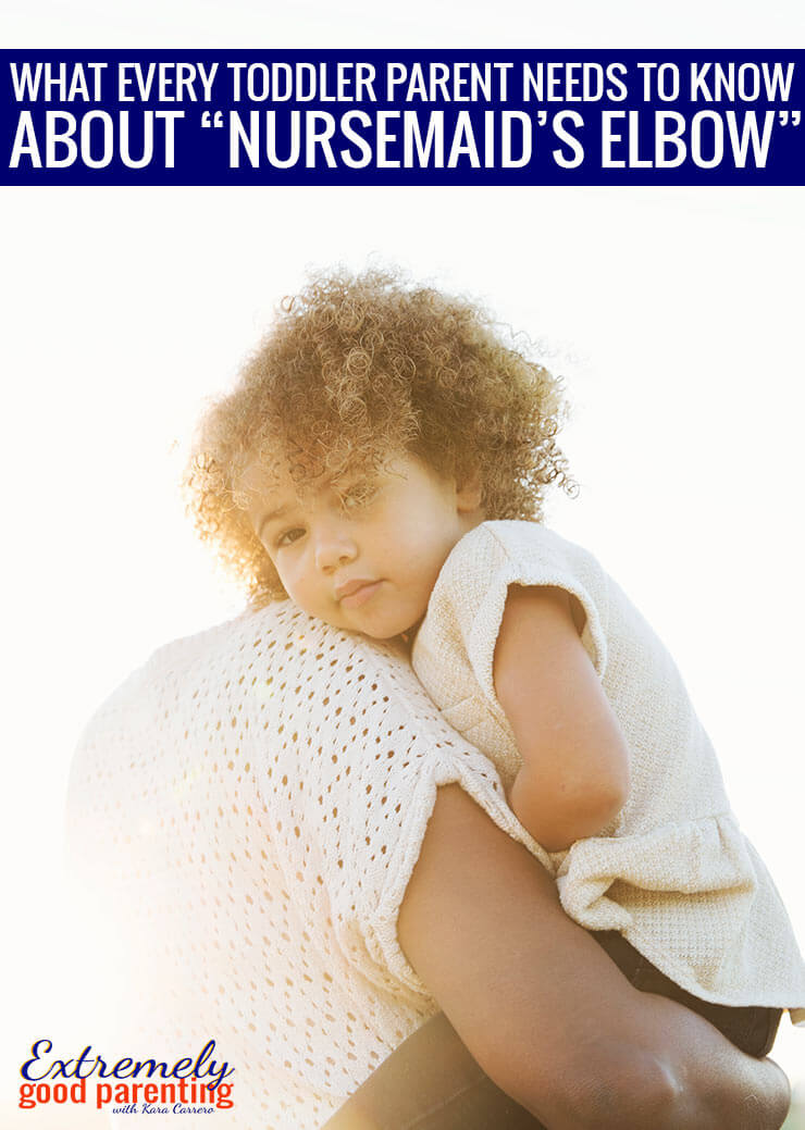 How to handle when you accidentally dislocate your child's elbow. Expert advice from physical therapists and orthopedic surgeons as well as the experience of a mom who accidentally gave her daughter nursemaid's elbow.