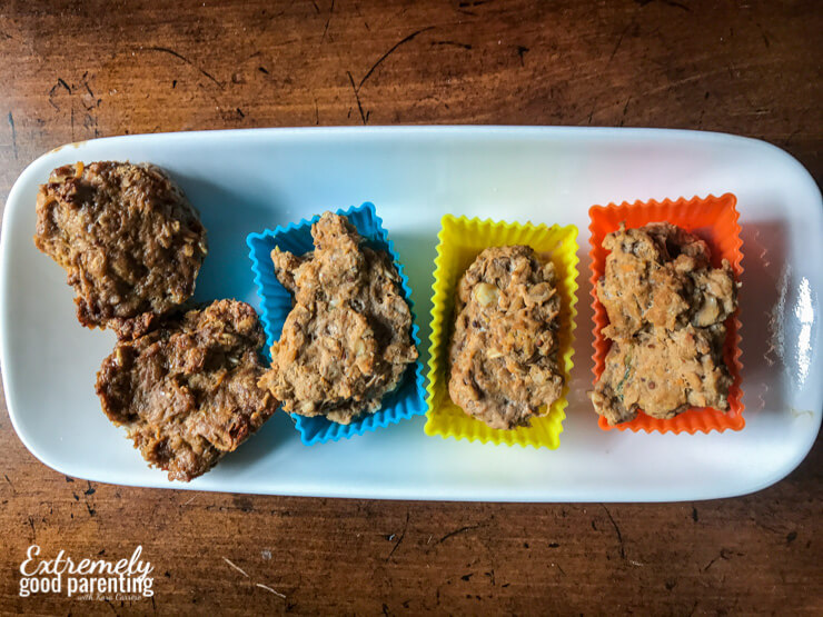 Quick pressure cooker meatloaf bites packed with healthy ingredients