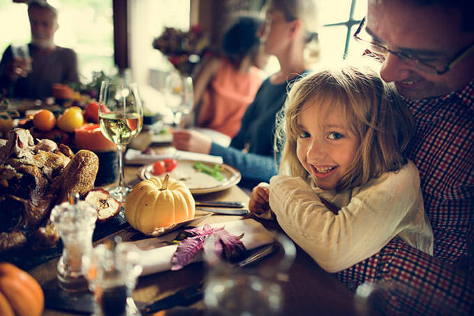 How to maintain peace at the dinner table despite opposing viewpoints