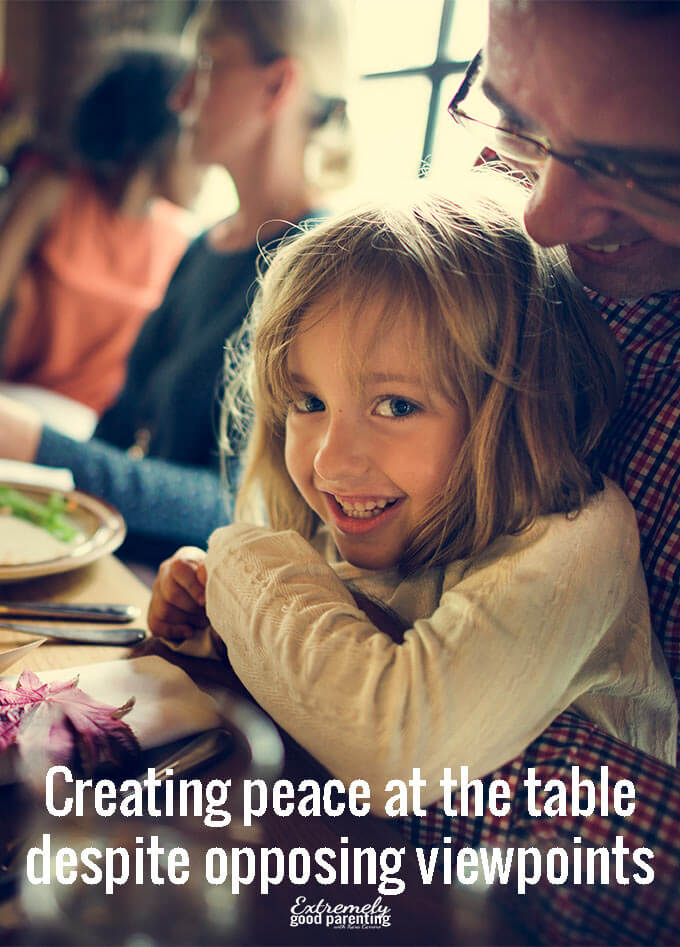 Whether it's the holidays or a regular family meal, understanding conflict resolution and how to maintain a peaceful dinner is paramount when mixing different opinions and viewpoints.