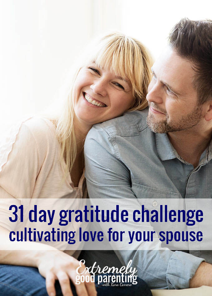 31 day marriage gratitude challenge
