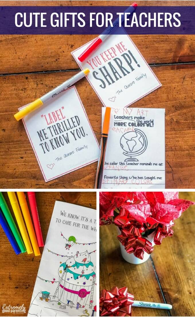 Cute and meaningful gifts when your child has multiple teachers