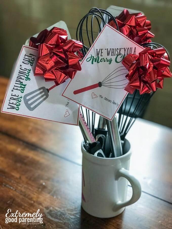 school staff go unnoticed! Gifts