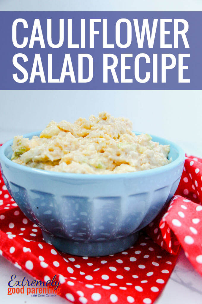 Cauliflower Salad recipe made in the #instantpot