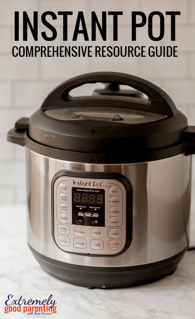 A complete guide to everything you need to know about your #instantpot both in terms of best #recipes, how to use it, and troubleshooting FAQ