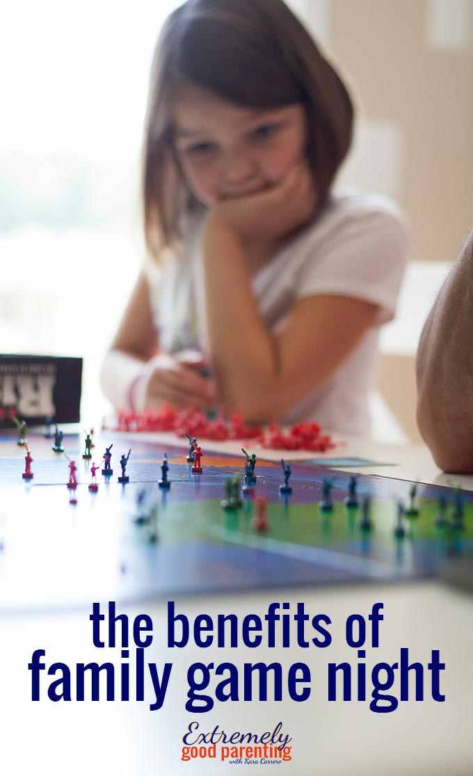 What are the benefits of family game nights? #familygames #gamenight #parenting