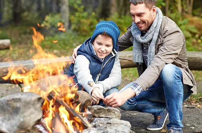 How to be eco-friendly and leave no trace when camping with kids