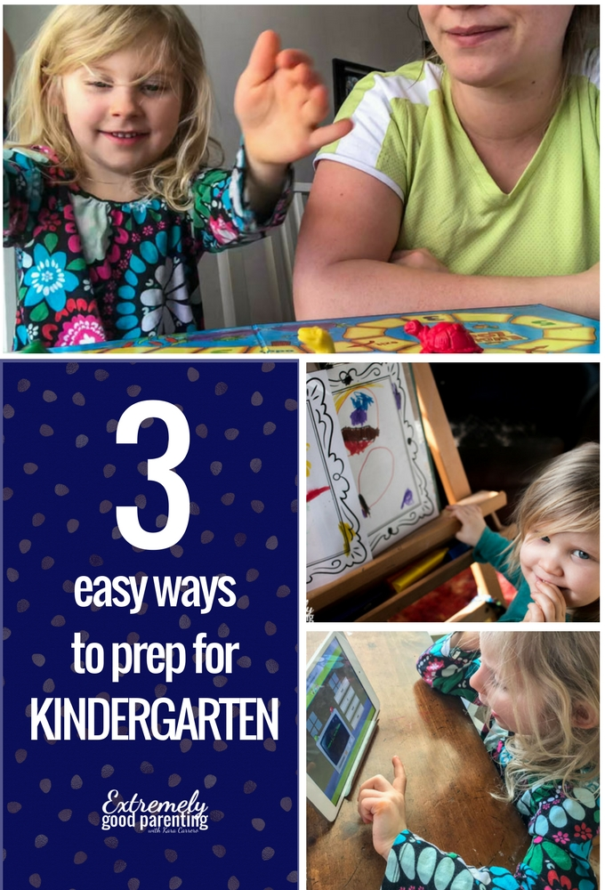 Easy ways parents can help prepare for #kindergarten #parenting #playmatters #earlyliterarcy