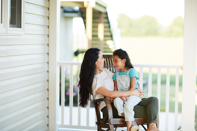 Behind the scenes at home: How to be the quiet, gentle parent for our kids to seek comfort
