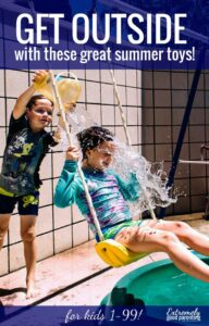 A list of the best outdoor games for both kids and adults to enjoy in the yard, this summer or even while camping.