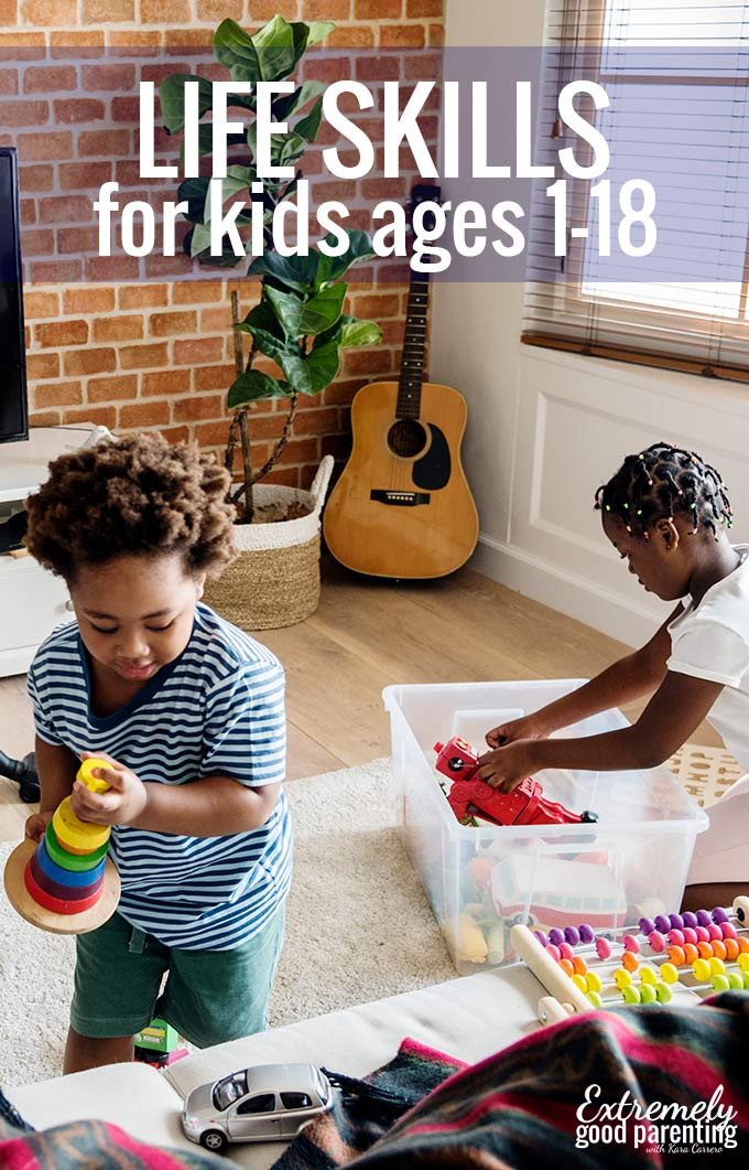 Raise kids with #lifeskills at any age.