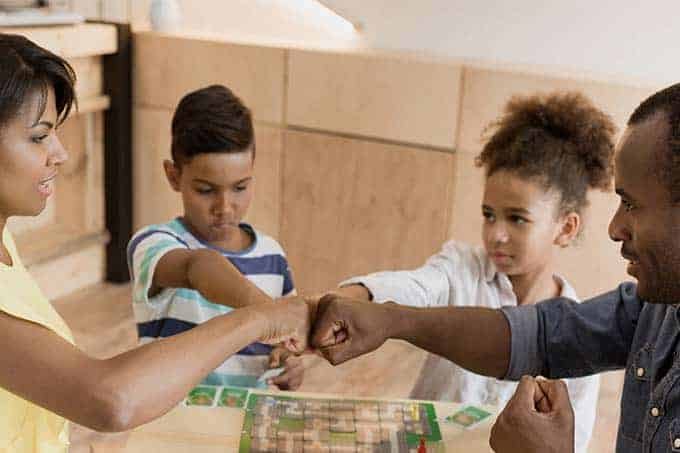 List of the best cooperative board games for families of all ages