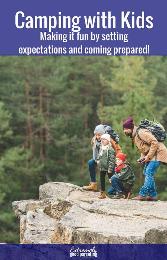 How to plan a fun camping trip with your kids that they will remember. #camping #parenting