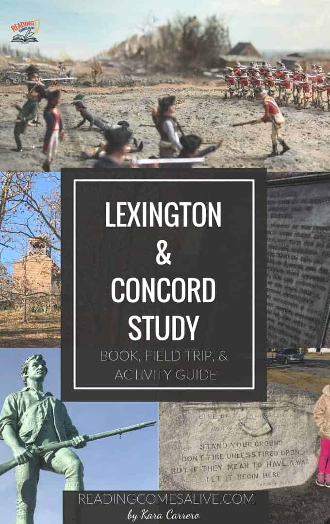 Lexington Concord Field Trip locations learning objectives #readingcomesalive #extremelygoodparenting #karacarrero