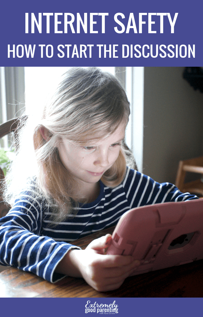 How to talk to young kids about internet safety and tools to use to Be Internet Awesome #ExtremelyGoodParenting #SaferInternetDay #BeInternetAwesome #Sponsored