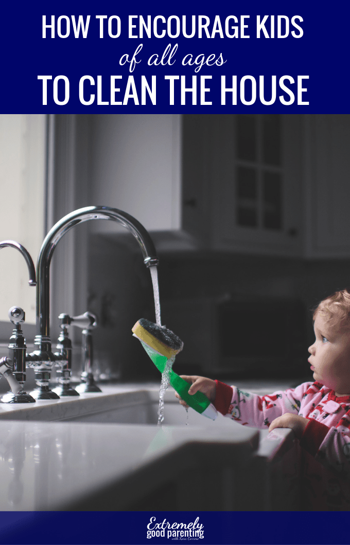 An easy solution to help children of all ages effectively clean and tidy the house. #extremelygoodparenting