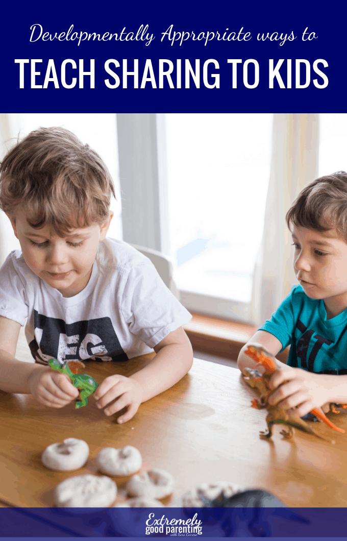 Strategies to teach kids to share