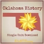 oklahoma history homescool curriculum individual unit download