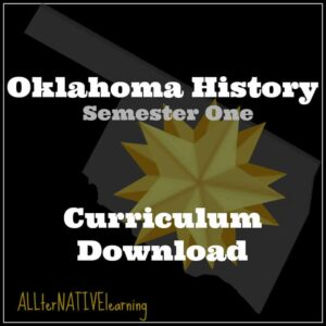 Oklahoma history semester one curriculum download